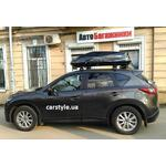 [Багажник Thule-753 WingBar і бокс Thule Touring 780 Black на Mazda CX-5] - [FU MZ4-6]