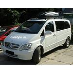 [Багажник Kenguru Rails Lux и бокс Terra Drive-480 (черный) на Mercedes Vito] - [FU MS2-12]