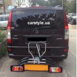 [Платформа для перевозки велосипедов Peruzzo Siena Fix-3 на Mercedes Vito] - [FU MS2-8]
