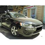 [Багажник Thule-754 SquareBar на Mitsubishi Lancer] - [FU MI3-51]