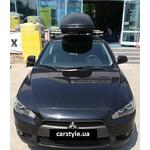 [Багажник Thule-754 Stream и бокс Terra Drive-440 (черный) на Mitsubishi Lancer] - [FU MI4-17]