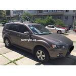 [Багажник Aguri Prestige и крепление Thule FreeRide 532 на Mitsubishi Outlander XL] - [FU MI3-44]