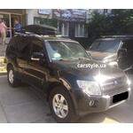[Багажник Desna-Auto и бокс WTR-600 (черный) на Mitsubishi Pajero] - [FU MI3-55]