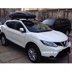 [Багажник Thule-775 Stream і бокс Terra Drive-480 (чорний) на Nissan Qashqai] - [FU NI2-23]