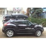 [Багажник Thule-754 Stream и бокс Terra Drive-440 (черный) на Nissan Juke] - [FU NI2-24]