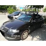 [Багажник Amos Dromader Aero Plus і кріплення Thule FreeRide 532 на Nissan Almera] - [FU NI4-16]