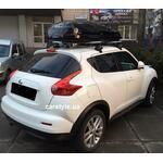 [Багажник Thule-754 Stream и бокс Junior Altro 460 (черный) на Nissan Juke] - [FU NI4-5]