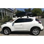 [Багажник Thule-754 Stream и бокс Terra Drive-440 (черный) на Nissan Juke] - [FU NI1-1]