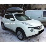 [Багажник Thule-754 Stream и бокс Terra Drive-440 (серый) на Nissan Juke] - [FU NI2-2]