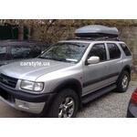 [Багажник Kenguru Rails Aero и бокс Terra Drive-420 (серый) на Opel Frontera] - [FU OP1-2]