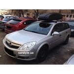 [Багажник Thule-753 WingBar і бокс Thule Atlantis 780 (чорний) на Opel Zafira] - [FU OP2-10]