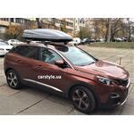 [Багажник Thule-753 Stream і бокс Terra Drive-480 (сірий) на Peugeot 3008] - [FU PE4-11]