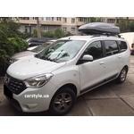 [Багажник Aguri Runner і бокс Terra Drive-480 (сірий) на Renault Lodgy] - [FU RE3-32]