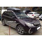 [Багажник Whispbar Rail и бокс Hapro Zenith 6.6 Titan на Subaru Forester] - [FU SU2-20]