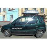 [Багажник CarStyle Rails Aero і бокс Terra Drive-320 (сірий) на Suzuki Ignis] - [FU SZ3-2]