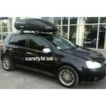 [Багажник Thule-754 Aero и бокс Terra Drive-440 (черный)+ Thule FreeRide 532 на VW Golf] - [FU VW2-35]
