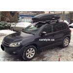 [Багажник Thule-754 Stream і бокс Terra Drive-480 (чорний) на VW Tiguan] - [FU VW3-5]
