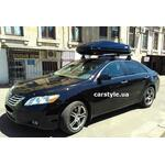 [Багажник Thule-754 Aero і бокс Thule Touring 600 (чорний) на Toyota Camry] - [FU TY2-26]