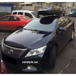 [Багажник Thule-754 WingBar Black і бокс Thule Touring 780 Black на Toyota Camry] - [FU TY4-7]