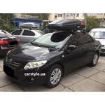 [Багажник Thule-754 WingBar Black і кріплення Terra Drive-480 на Toyota Corolla] - [FU TY3-53]