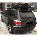 [Багажник Thule-775 Stream і бокс Terra Drive-480 (чорний) на Toyota Highlander] - [FU TY4-4]