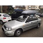 [Багажник Terra Clip Aero+ і бокс Terra Drive-440 (сірий) на Daewoo Sens] - [FU DW5-3]