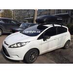 [Багажник Thule Clip Oval и бокс Terra Drive-440 (черный) на Ford Fiesta] - [FU FO5-4]