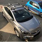 [Багажник Whispbar FlushBar и крепление Whispbar 201 на Hyundai Elantra] - [FU HY5-8]