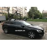 [Багажник Thule WingBar Edge 959 і кріплення Thule ProRide 591 на Volvo V60] - [FU VO5-6]