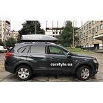 [Багажник Aguri Prestige и бокс Terra Drive-480 (серый глянец) на Chevrolet Captiva] - [FU CH5-3]