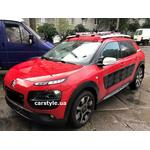 [Багажник Whispbar RailBar і кріплення Amos Tour на Citroen C4 Cactus] - [FU CI5-7]
