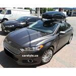 [Багажник Terra Clip Aero і бокс Terra Drive-480 (чорний глянець) на Ford Fusion] - [FU FO5-8]