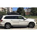 [Багажник Turtle Air1 і бокс Terra Drive-480 (чорний) на Mercedes GL] - [FU MS5-9]