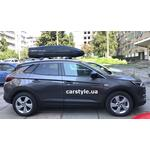 [Багажник Gev Geo і бокс Terra Drive-480 (чорний) на Opel Grandland X] - [FU OP5-8]