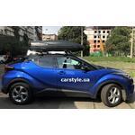 [Багажник Thule-754 Stream и бокс Terra Drive-480 (черный) на Toyota CH-R] - [FU TY5-9]