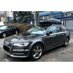 [Багажник Aguri Prestige и бокс Terra Drive-480 (черный) на Audi A6] - [FU AU5-8]