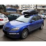 [Багажник Turtle Air3 и бокс Terra Drive-440 (черный) на Mazda 3] - [FU MZ5-8]