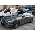 [Багажник Thule-754 Stream и бокс Thule Motion XT L Black на Mazda 6] - [FU MZ6-1]