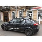 [Багажник Terra Clip Wing+ Black на Chevrolet Lacetti] - [FU CH6-2]