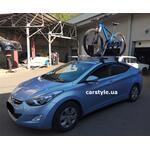 [Багажник Terra Clip Wing+ и крепление Amos Tour на Hyundai Elantra] - [FU HY6-4]