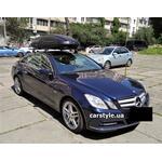 [Багажник Thule-753 Stream Black и бокс Terra Drive-480 (черный) на Mercedes E-Class] - [FU MS6-8]