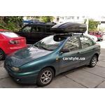 [Багажник Terra Clip Oval и бокс Terra Drive-440 (черный) на Fiat Bravo] - [FU FI6-2]