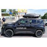[Багажник Turtle Air1 Black и бокс WTR-480 (черный) на Jeep Renegade] - [FU JP6-3]