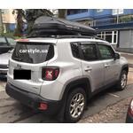 [Багажник Turtle Air1 Black и бокс Terra Drive-500 (черный) на Jeep Renegade] - [FU JP6-2]