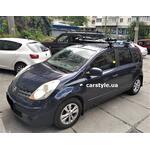 [Багажник Amos Dromader Wind Plus и крепление Thule ProRide 598 на Nissan Note] - [FU NI6-7]