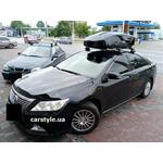 [Багажник Thule Edge Clamp 7205 и бокс Thule Motion XT M Black на Toyota Camry] - [FU TY6-9]