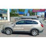 [Багажник Turtle Air1 и бокс Sotra Strike 440 Grey на Chevrolet Captiva] - [FU CH6-8]