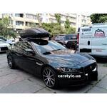 [Багажник Thule-754 Stream Black и бокс Terra Drive-440 (черный) на Jaguar XE] - [FU JAG6-1]
