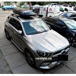 [Багажник Thule-753 Stream Black и бокс Hapro Zenith 6.6 Black на Mercedes GLE] - [FU MS6-11]