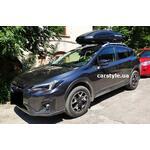 [Багажник Thule WingBar Edge 958 Black и бокс Terra Drive-480 (черный) на Subaru XV] - [FU SU6-17]